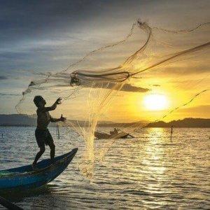 Mreža za komarce u ribolovu