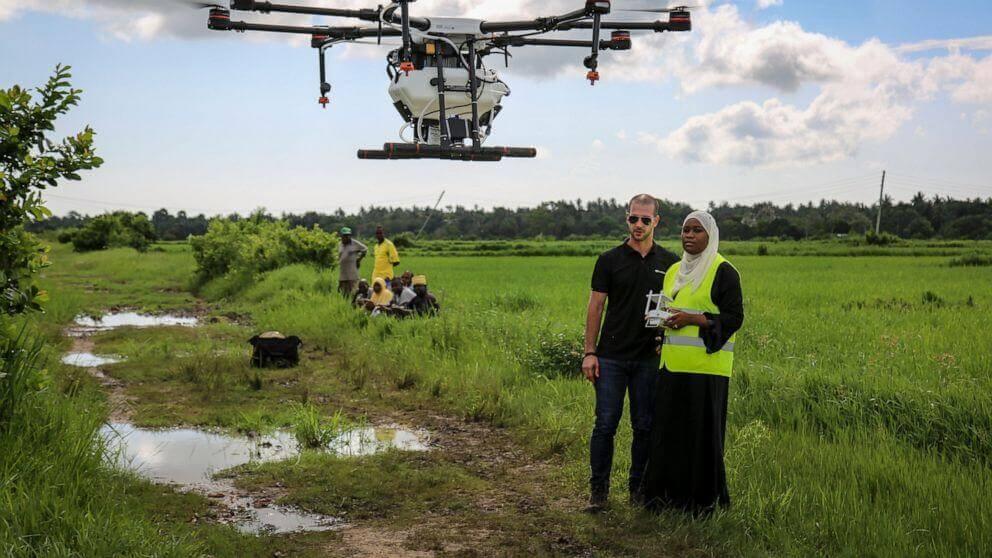 zanzibar testira dronove